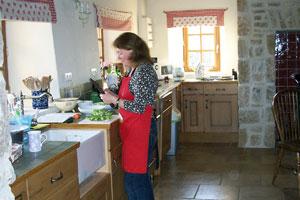 D Day tours kitchen