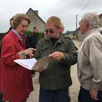 Susan Eisenhower on Ben's D Day Tour