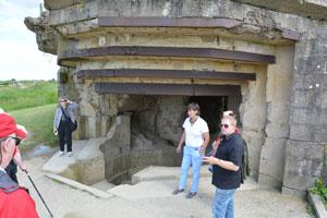 D Day Tours at Pointe du Hoc